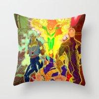 Uncanny X-Men Throw Pillow