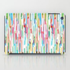 vertical brush strokes  iPad Case