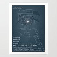 BLADE RUNNER (Voight Kam… Art Print