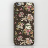 iPhone & iPod Skin featuring Botanic Wars by Josh Ln