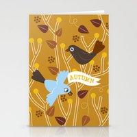 4 Seasons - Autumn Stationery Cards