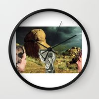 Trying To Change Nature, Never Works The Way You Want It To Wall Clock