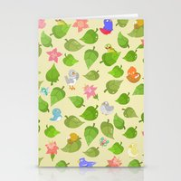 birds&leaves Stationery Cards