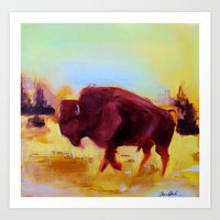 Little Buffalo Art Print