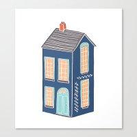 Little Townhouse Canvas Print