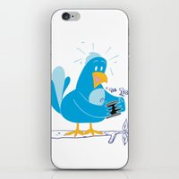 Twitter Lovers iPhone & iPod Skin