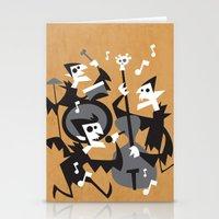 The Jazz Bats Stationery Cards