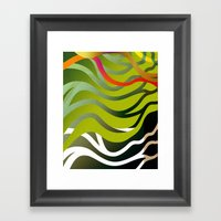 Eau Framed Art Print