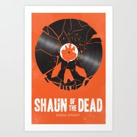 Shaun of the dead Art Print