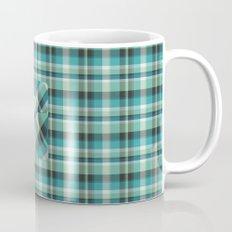 Plaid Pocket - Teal Blue/Green Mug