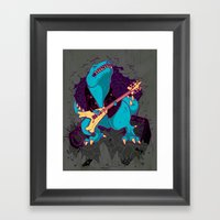 T-Rox Framed Art Print