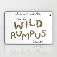 Let the wild rumpus start! Laptop & iPad Skin