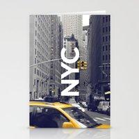 NYC Basic [3] Stationery Cards