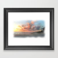 Vero Beach Sunrise Framed Art Print