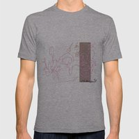 Giraflower  Mens Fitted Tee Athletic Grey SMALL