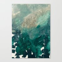 Oceanic Plankton 1 Canvas Print