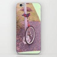 Unicycle iPhone & iPod Skin