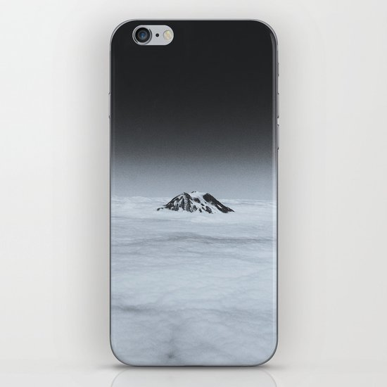 Higher than the Clouds (with an iPhone) iPhone & iPod Skin