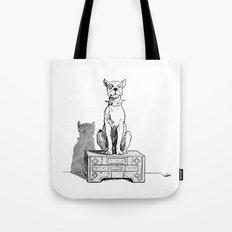 Dog Drawing Tote Bag