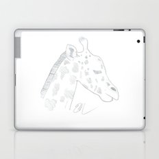 GIRAFFE LINE ART Laptop & iPad Skin