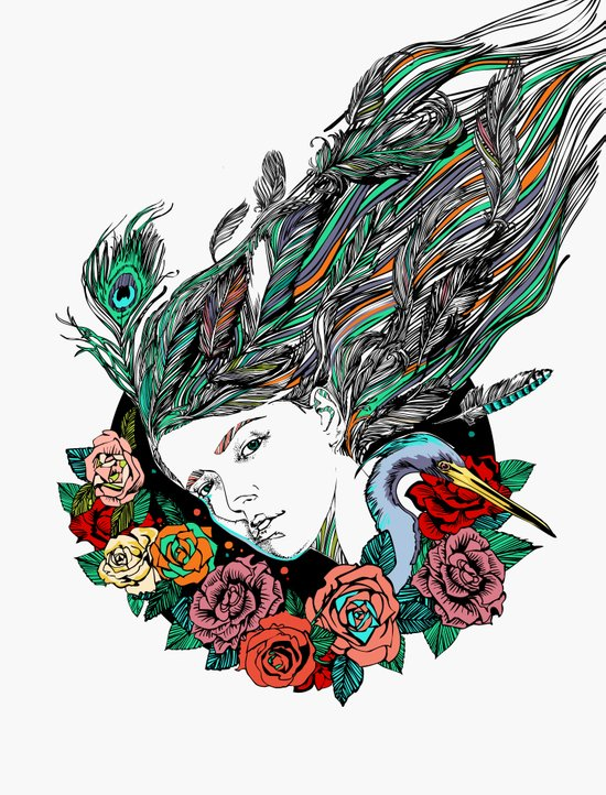 Feather Dream Art Print
