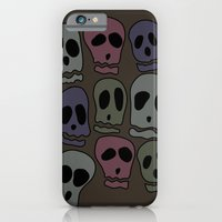 iPhone & iPod Case featuring Skulls-2 by Julianne Ess