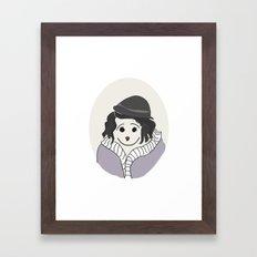 Piaf - La vie en Rose Framed Art Print