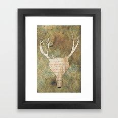 Brilliant Idear Framed Art Print