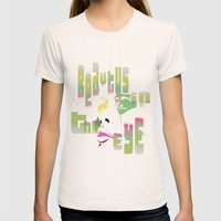 bEAutY Womens Fitted Tee Natural SMALL