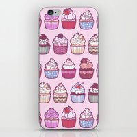 Cupcakes Galore iPhone & iPod Skin