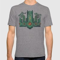 The Crown Of Cthulhu Mens Fitted Tee Tri-Grey SMALL