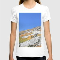 First Snow Womens Fitted Tee White SMALL