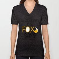What Does The Fox Say  Unisex V-Neck