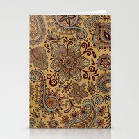 Cosmic Paisley Henna Stationery Cards