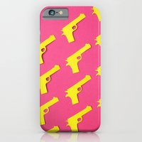 Guns Papercut iPhone 6 Slim Case