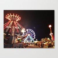 Traveling Fair Canvas Print