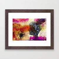 When day you will wake up.. Framed Art Print