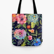 Cosmic Florals Tote Bag