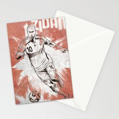 Zinedine Zidane Stationery Cards