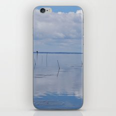 Picture Perfect Blue Sky Water Bay Scene Landscape  iPhone & iPod Skin