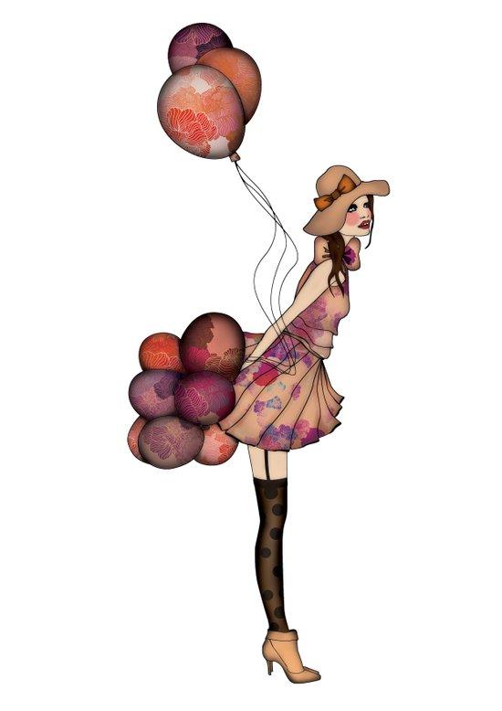 Le Ballon // Birthday III Art Print