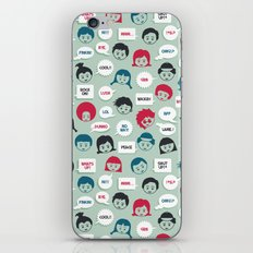 Kids Speak iPhone & iPod Skin