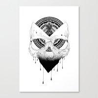 Enigmatic Skull Canvas Print