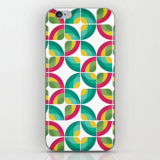 Passion Fruit Pattern iPhone & iPod Skin