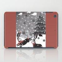 Snow Carnival iPad Case