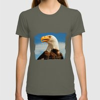 EAGLE EYED Womens Fitted Tee Lieutenant SMALL