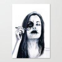 Arson Canvas Print