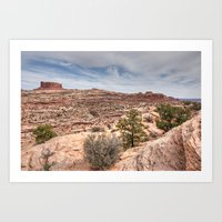 Monitor Butte on the Colorado Plateau Art Print