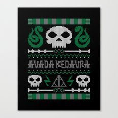 The Dark Sweater Canvas Print