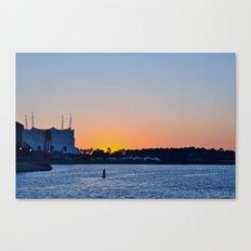 Downtown Disney Sunset II Canvas Print